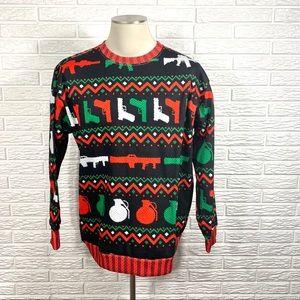 Weapons Enthusiast Christmas Sweatshirt